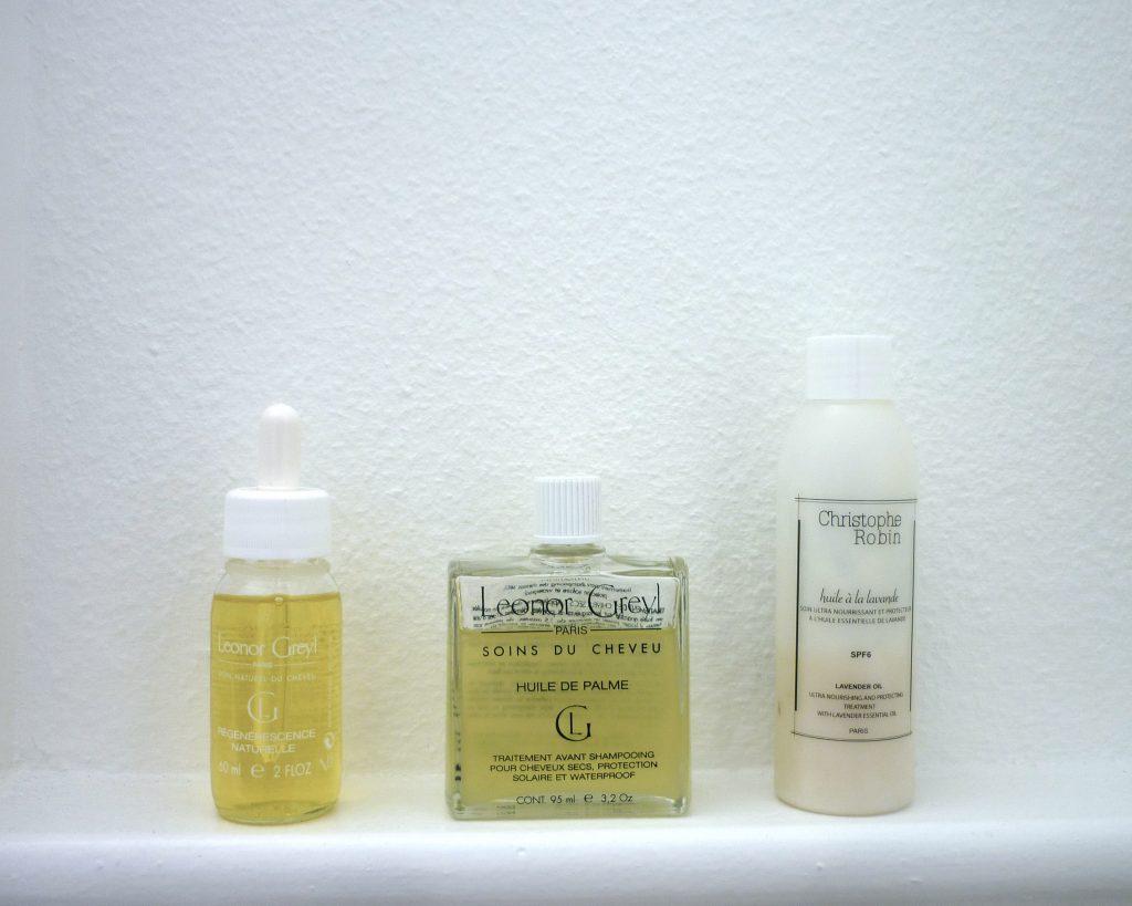 Les soins avant shampoing 1