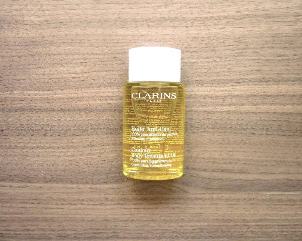 huile anti-eau clarins 3