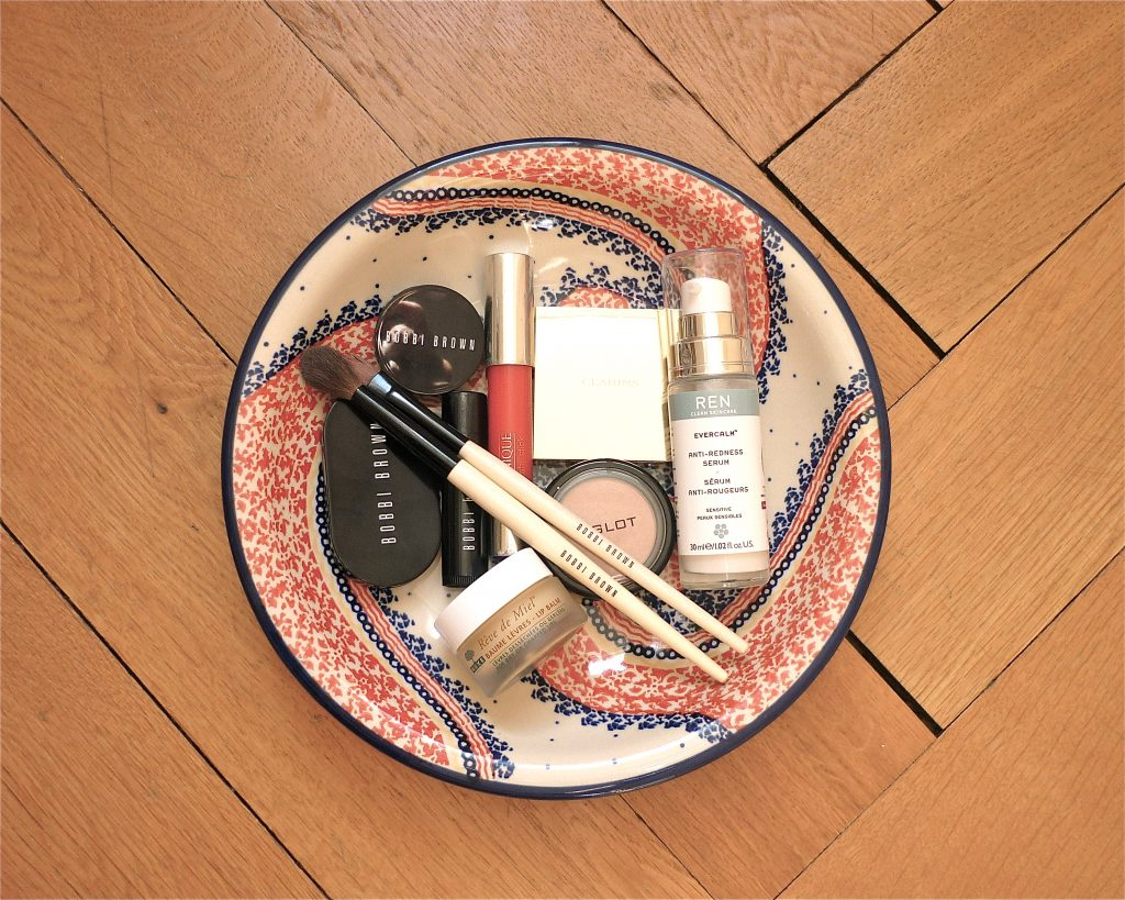 bobbi brown clarins clinique inglot nuxe ren skincare