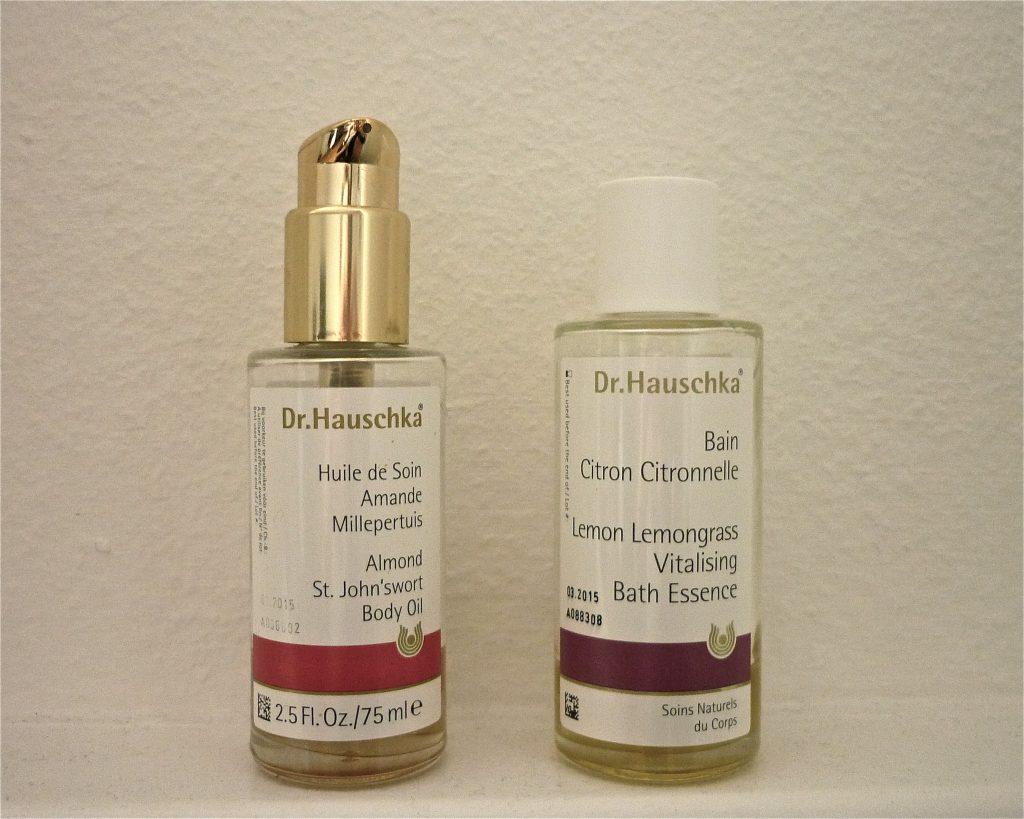 Les huiles de soin Dr. Hauschka