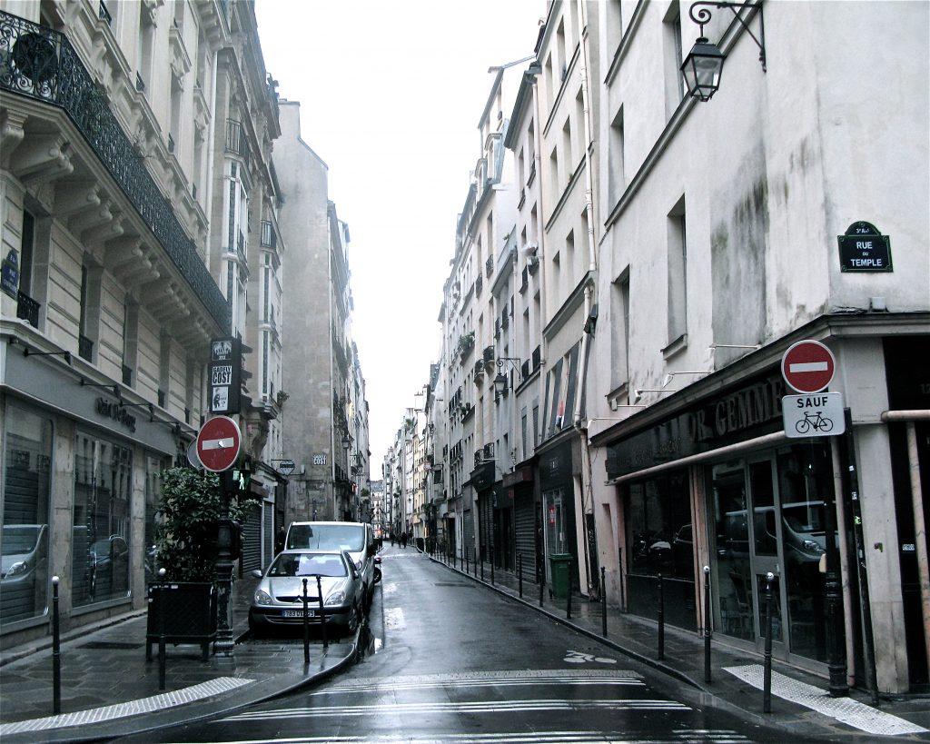 séjour parisien le marais