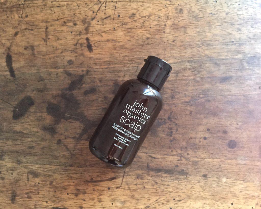 john master organics shampoing stimulant menthe verte reine des prés
