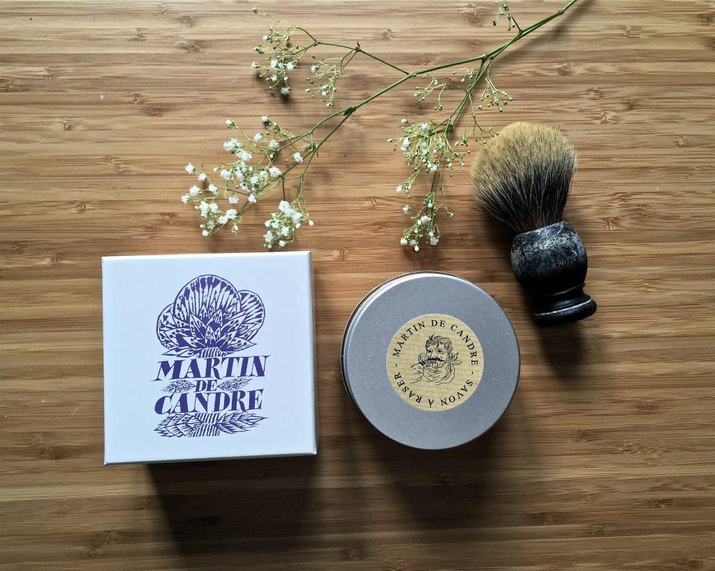 martin de candre savon à raser