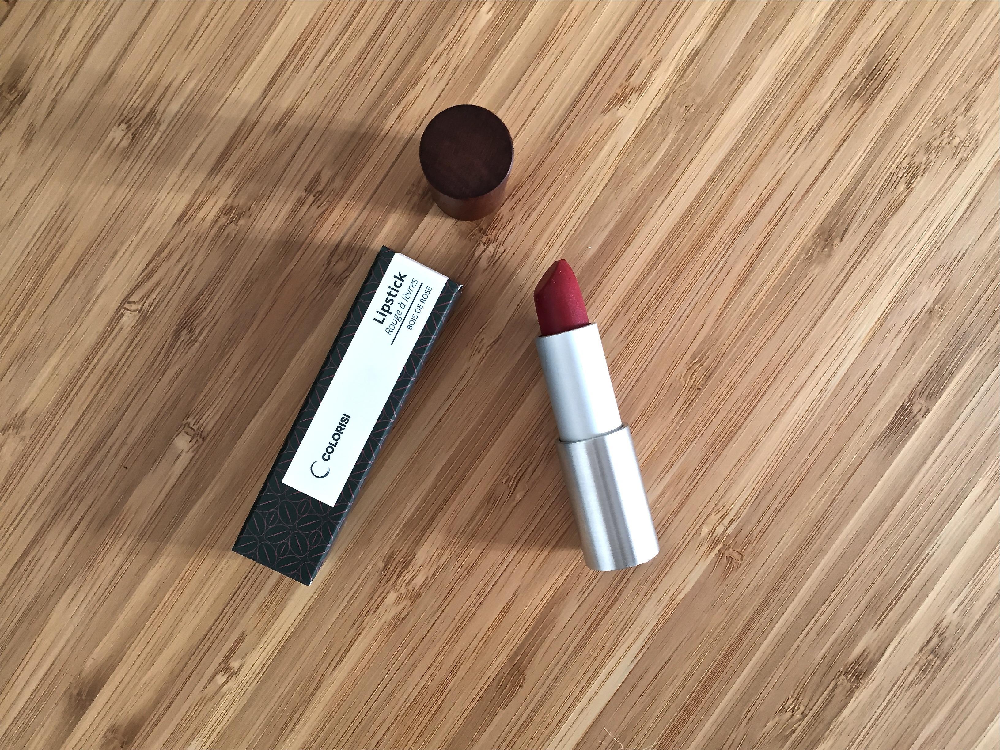Colorisi, une gamme de maquillage green et innovante The Pretty Cream # Rouge A Levre Bois De Rose