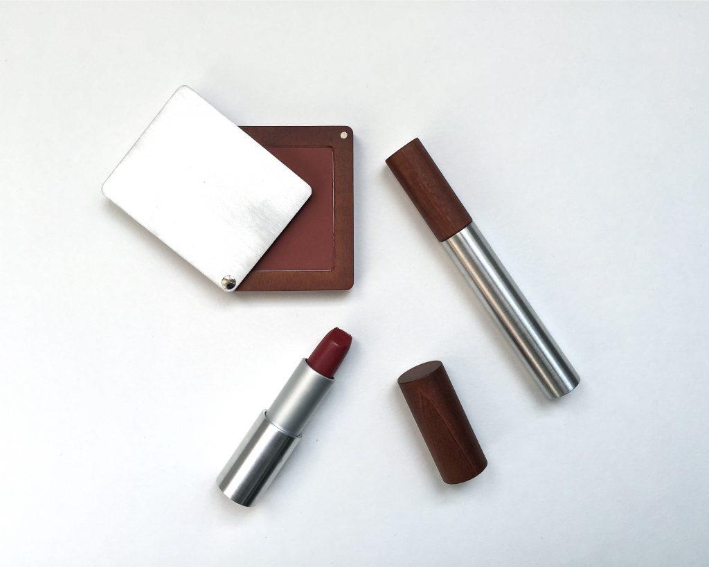 colorisi rouge à lèvres bois de rose blush roméo mascara