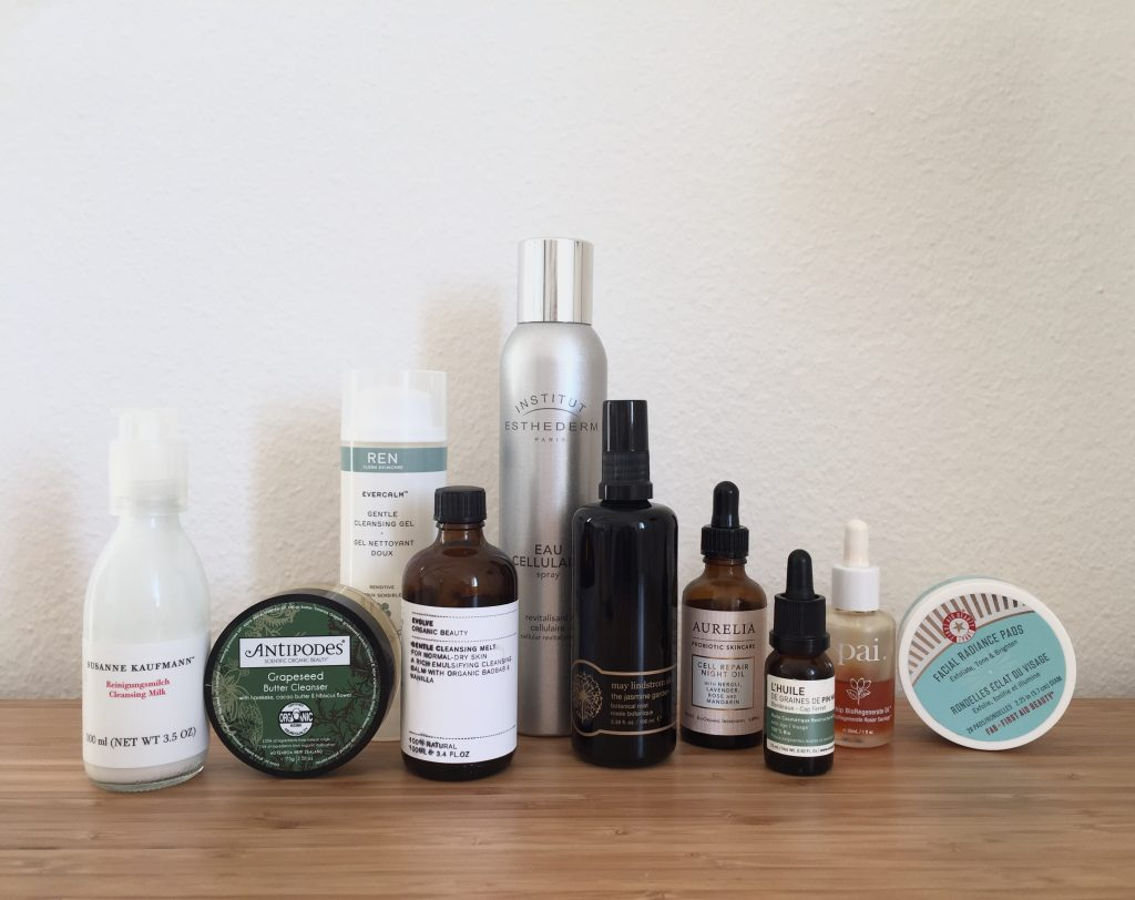 routine soin du visage the pretty cream susanne kaufmann antipodes ren skincare evolve beauty may lindstrom first aid beauty esthederm avène océopin aurelia probiotic skincare pai skincare