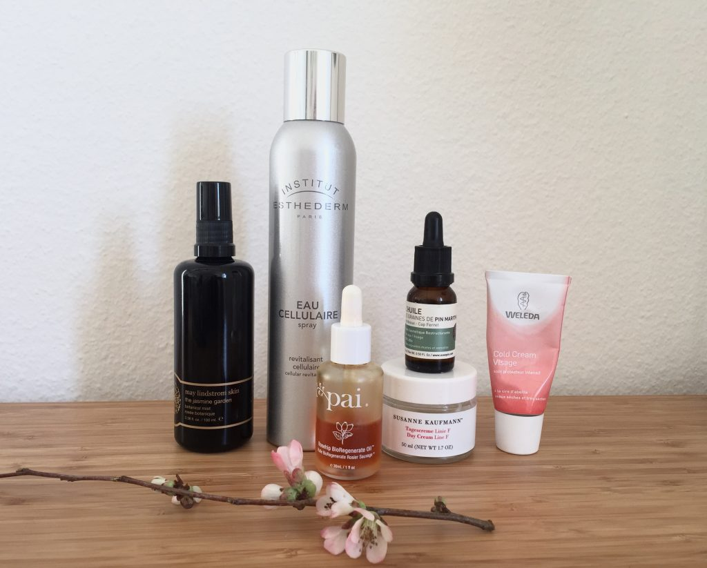 routine soin du visage the pretty cream may lindstrom esthederm pai skincare océopin susanne kaufmann weleda