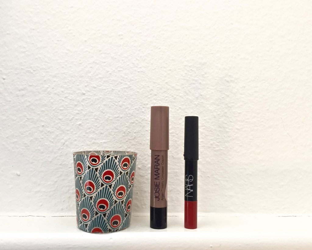 josie maran creamy concealer nars velvet matte lip pencil dolce vita the pretty cream