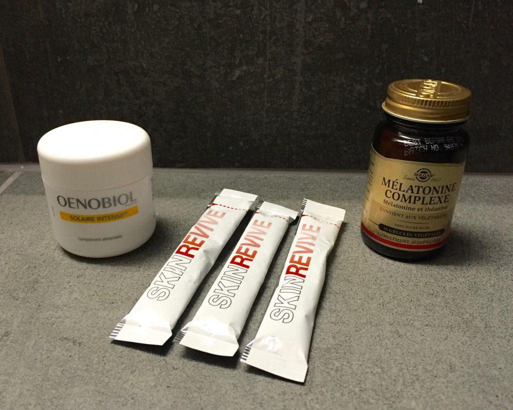 vanity beauté oenobiol skin revive melatonine solgar theprettycream