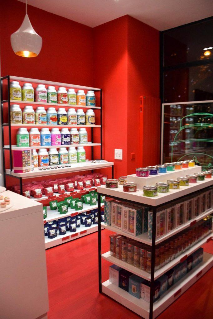 Kusmi Tea s'installe à Lausanne