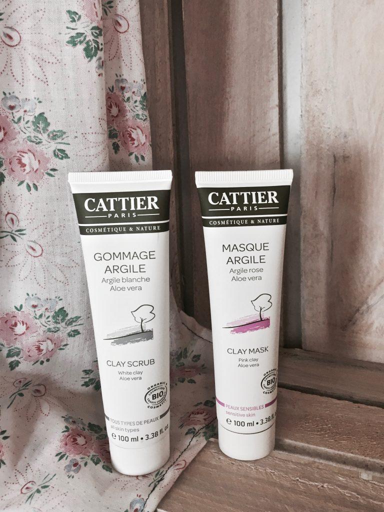 gommage argile blanche aloe vera et masque argile rose cattier test et avis