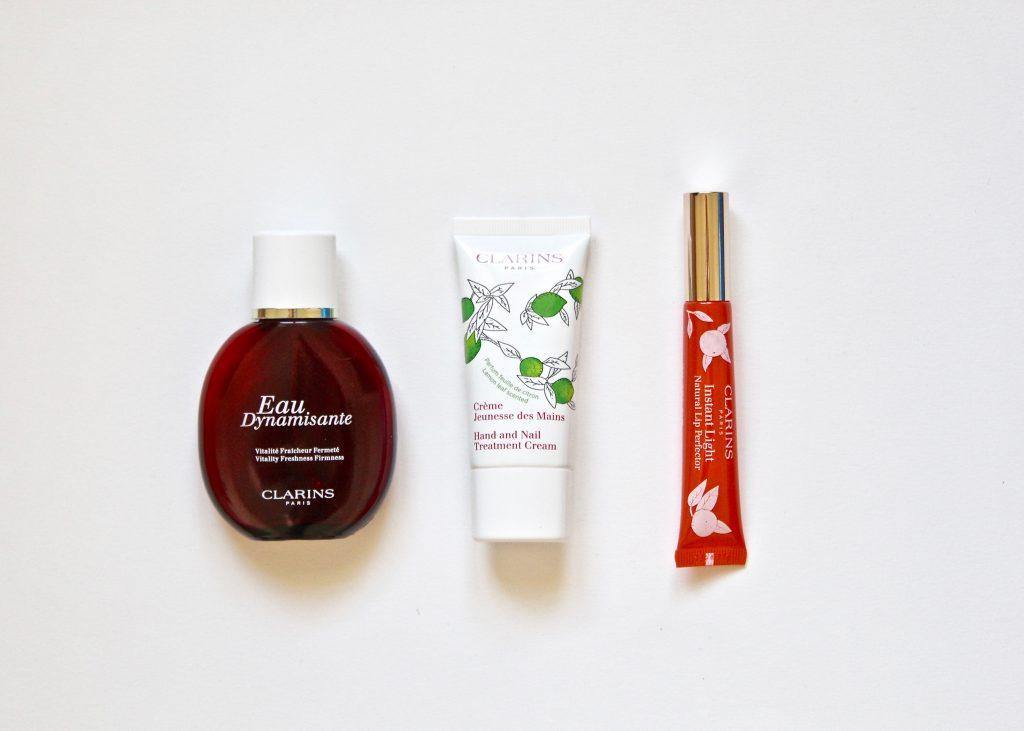 clarins eau dynamisante embellisseur lèvres crèmes mains 2