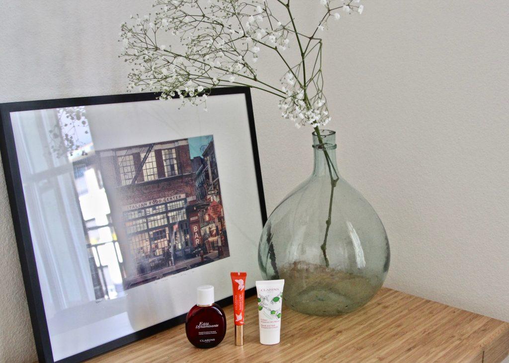 clarins eau dynamisante embellisseur lèvres crèmes mains 3