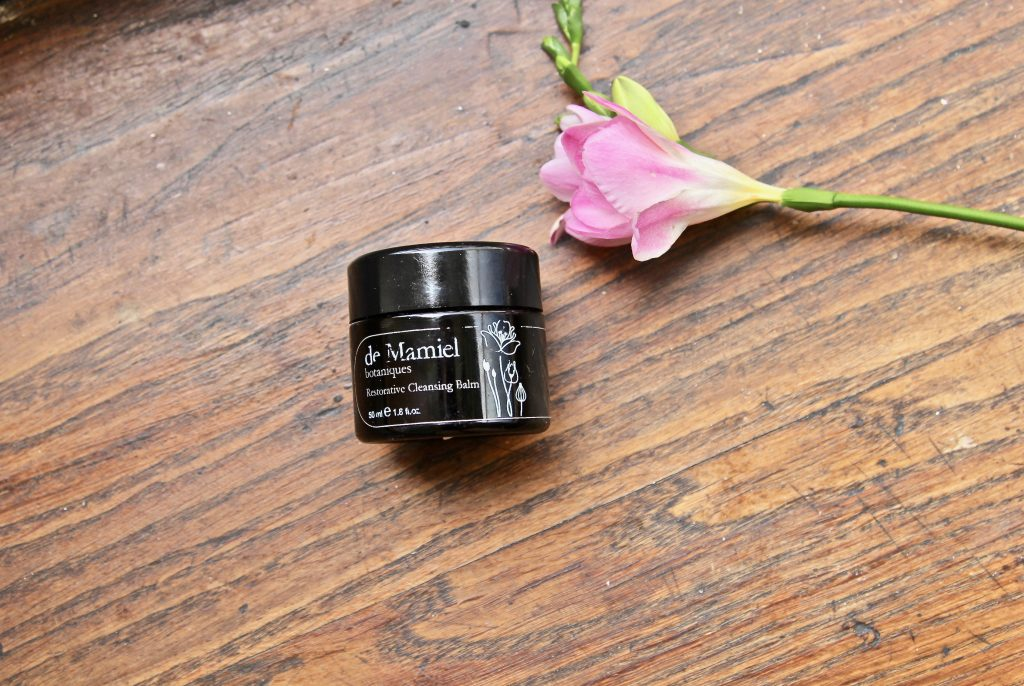 test et avis restorative cleansing balm de mamiel the pretty cream