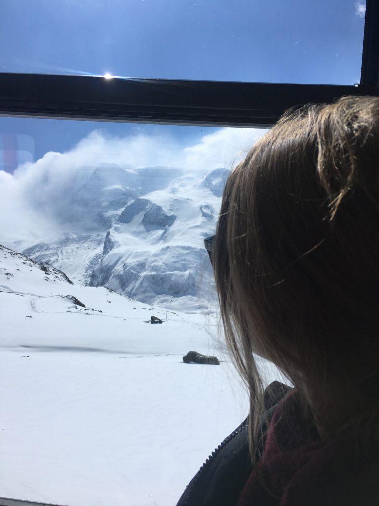 Train pour Zermatt