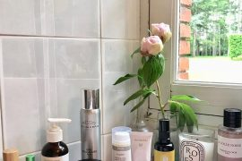 art du démaquillage bathroom the pretty cream