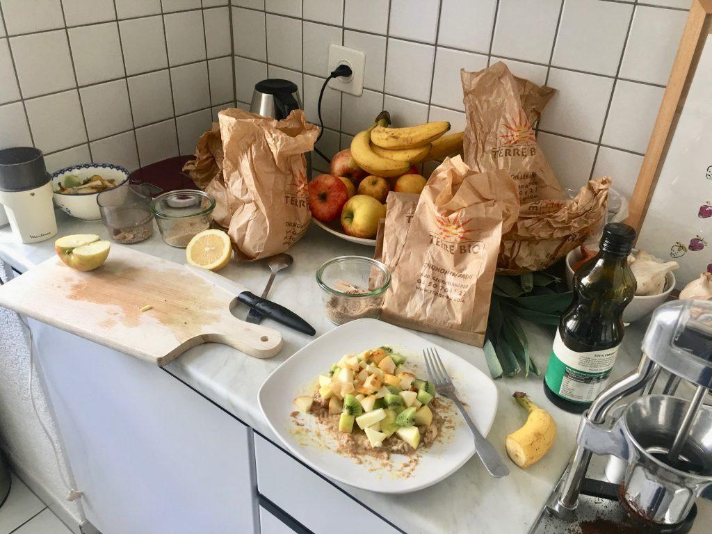 miam o fruit préparation cuisine