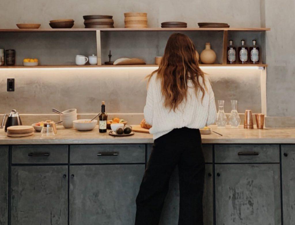 La cuisine de rêve !(Source : Ally Walsh & Goop)